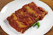 Vegan Basil Pesto Cannelloni in Rich Tomato Sauce