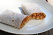 Chana Burrito: A Spicy Handheld Meal