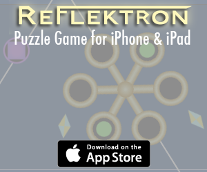 Reflektron game ad
